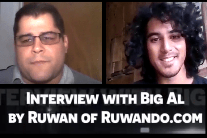 Check Out Big Al's Male Enhancement Interview with Ruwan
