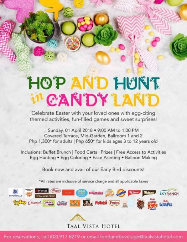 Tagaytay Easter Events 2018