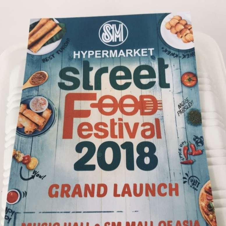 SM Hypermarket Street Food Festival  2018 Schedule