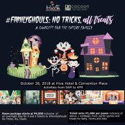 #FamilyGhouls -No Tricks, ALL Treats:  A Concept For The Entire Family