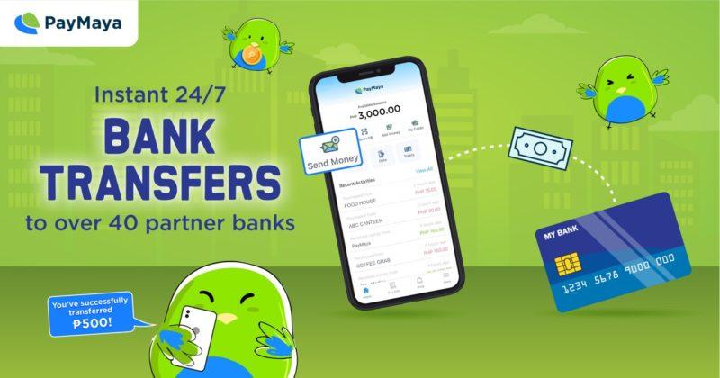 Send Money to Bank PayMaya