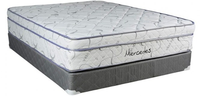 This Is A Plush Pillow Top Mattress That Uses Special Type Of Foam To Provide Comfort And Support At All Times Reduces Pressure Points While