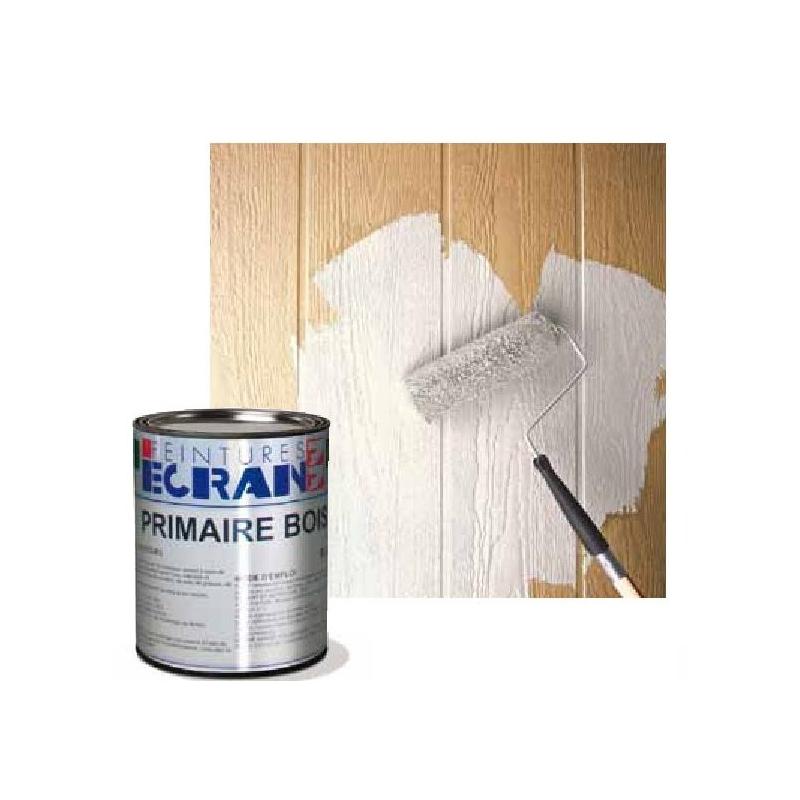 peinture sous couche pour bois neufs ou anciens interieur et exterieur blanc primaire bois