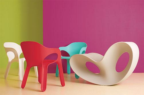 repeindre une chaise en plastique