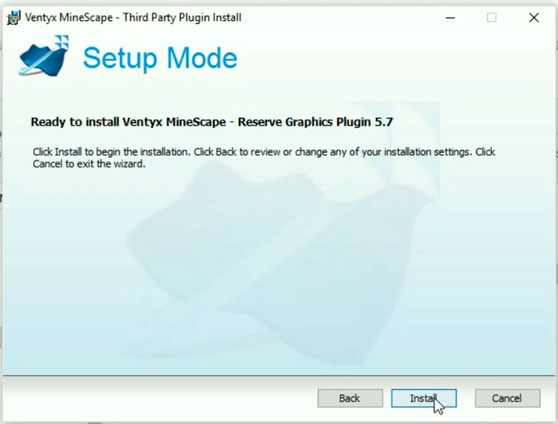 Setup-Mode-Ventyx-Minescape