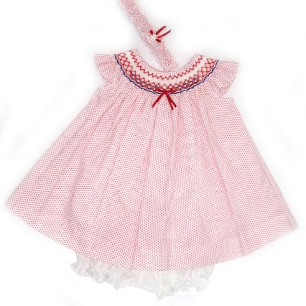 Vestido Bordado Bebe