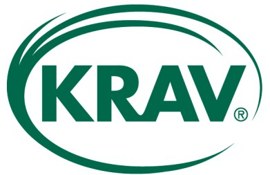KRAV-märke ekologisk certificering, logotyp