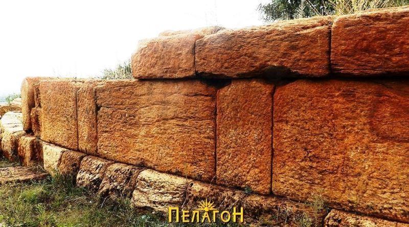Зачуван дел од кружниот ѕид