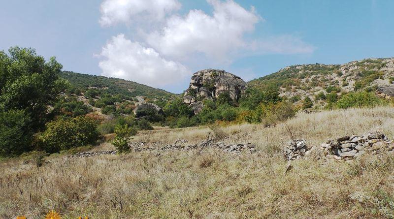 Дел од локалитетот на копј се наоѓал градот