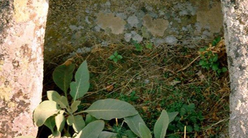 Ниша издлабена во централната карпа на локалитетот