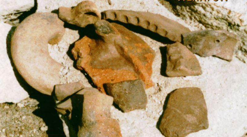 Фрагменти од керамички садови од локалитетот