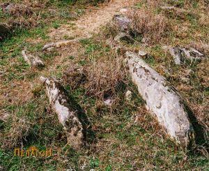 Гроб-циста од некрополата од западната страна на тридот