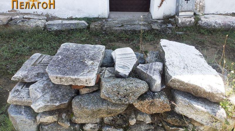 Остатоци од камена пластика и градежен камен