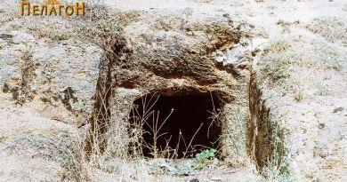 """Гробница бр. 1 - најзачувана на л. """"Крклари"""""""