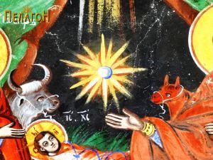 """Централниот симбол од """"Раѓањето Христово"""" - ѕвездата"""