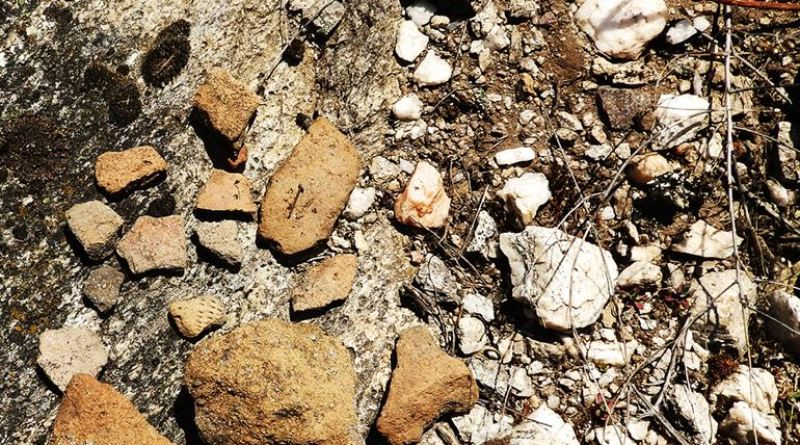 Фрагменти од разновидни керамички предмети