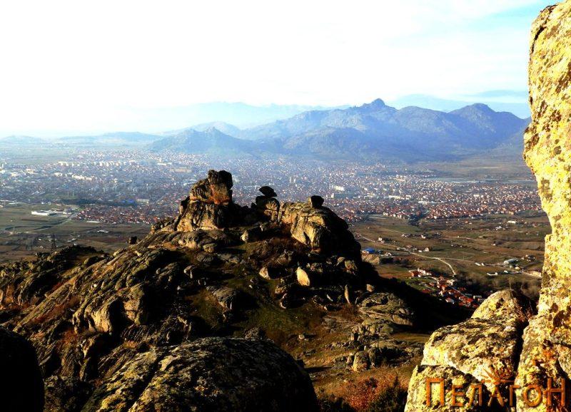 Од исток со градот Прилеп