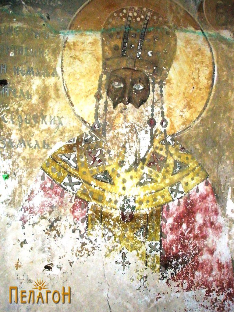 Царот Стефан Душан на западниот ѕид 2