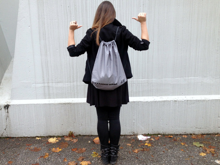 alexander wang x h&m, blogger, outfit, fashion junkie