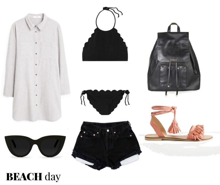 outfit ideas, polyvore, pelamarela, blogger, fashion, style, summer, beach, seaside fashion, swimsuits