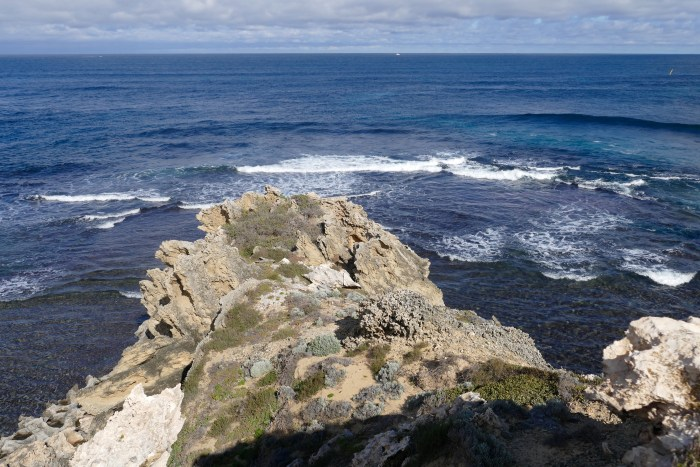 Parker Point, south side of Rottnest. All photos copyright Doug Spencer.