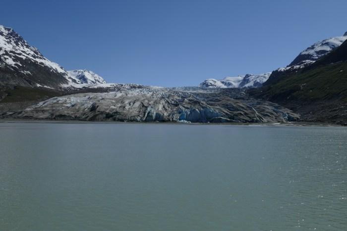 Snout of Reid Glacier, low tide. All photos copyright Doug Spencer.