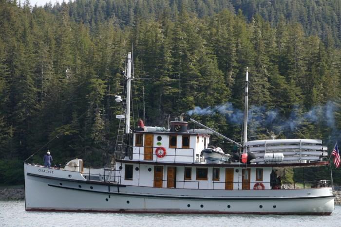MV Catalyst in Glacier Bay. All photos copyright Doug Spencer