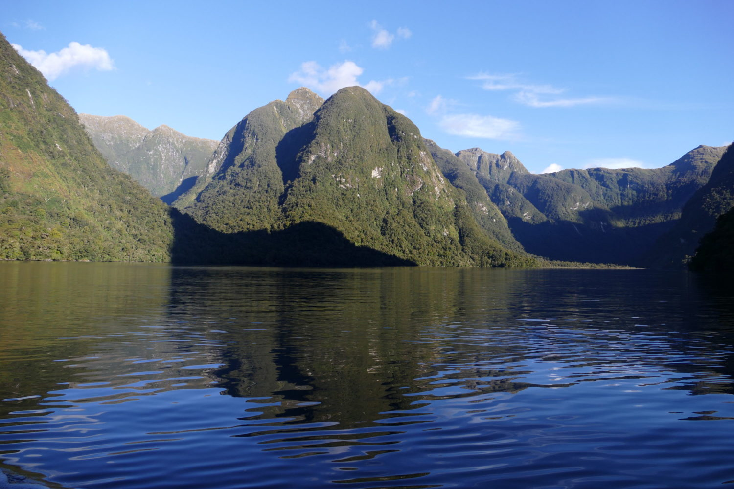 Mid-afternoon, Doubtful Sound, April 22, 2015. All photos copyright Doug Spencer.