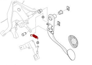 Mini Cooper & Cooper S (R50R52R53)  Pedal System  Page 1