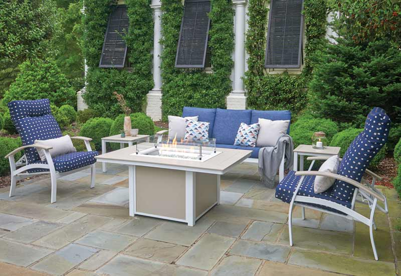 outdoor patio furniture by telescope