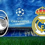 REAL MADRID vs ATLANTA – UEFA CHAMPIONS LEAGUE OCTAVOS DE FINAL 2021