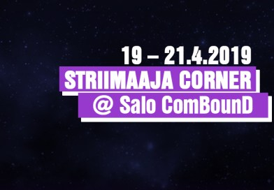 Striimaaja corner @ Salo ComBounD
