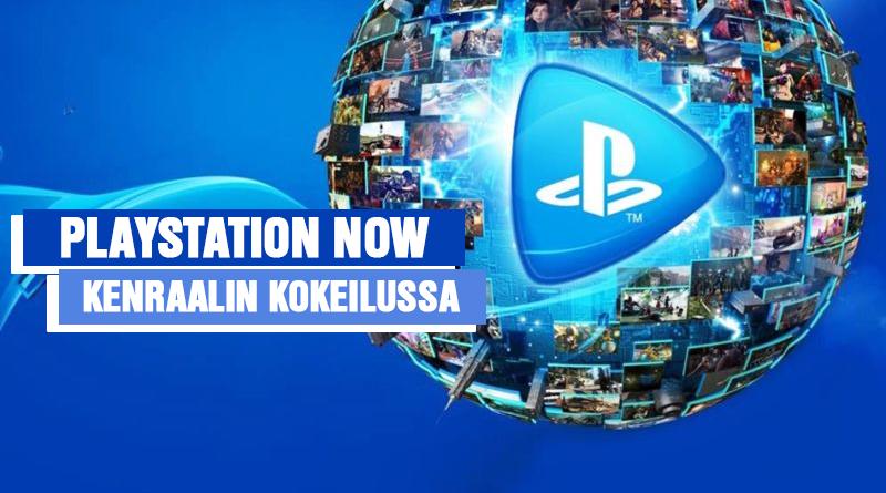 Playstation Now rantautui Suomeen!