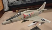 Andy mason put this 1:48 ESCI A4E into flight mode.