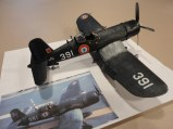 Tom Milne recreated a historical F4U French Corsair.