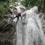 image of canyoning