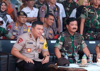 Kapolda Banten Bersama Panglima TNI, Foto Pelita.co (Dok list)