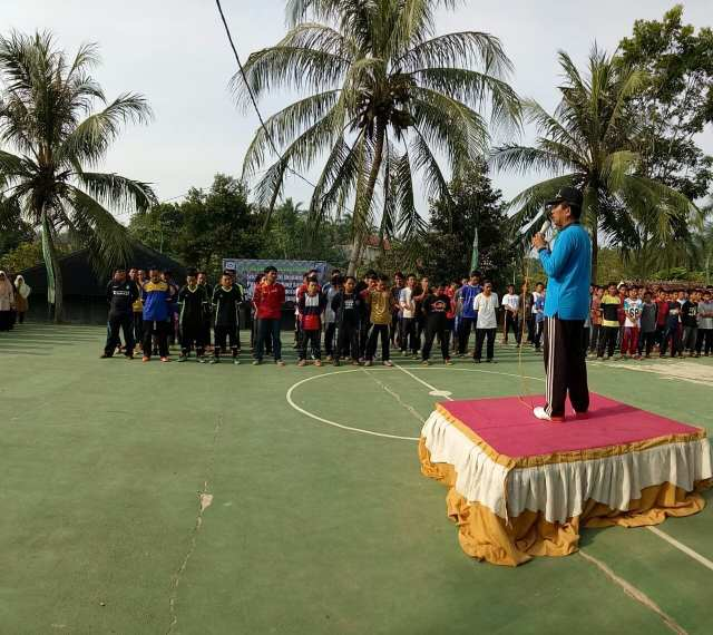 Rayakan Milad Ke-20, Ponpes Manahijussadat Gelar Lomba Futsal Antar Alumni