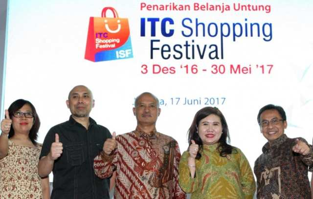 Closing Ceremony ITC Shopping Festival dan Lucky Draw Kegiatan 10.000 Kantong Darah