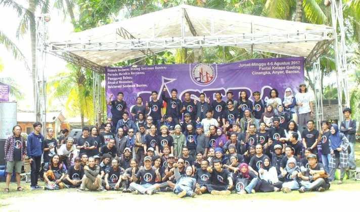 Jambore Seniman Banten Lahirkan Deklarasi Pancacita