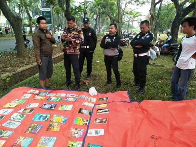 Diusir Saat Gelaran Buku, Komunitas Motor Literasi Chapter Tangerang Menyayangkan Sikap Petugas Keamanan