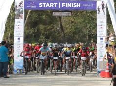 Rangkaian Rhino X-Tri Hari Kedua, Gubernur Banten Lepas Peserta MTB XCM, Balap Sepeda Lintas Alam