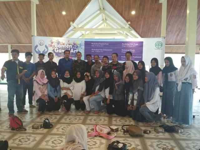 Dewan Kesenian Lebak Gelar Workshop Seni Banten Gawe Art #2