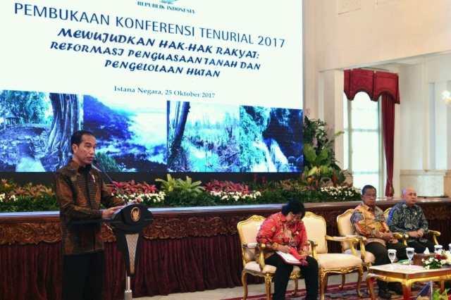 Presiden Jokowi Ingin Perhutanan Sosial Hadirkan Keadilan Ekonomi Rakyat