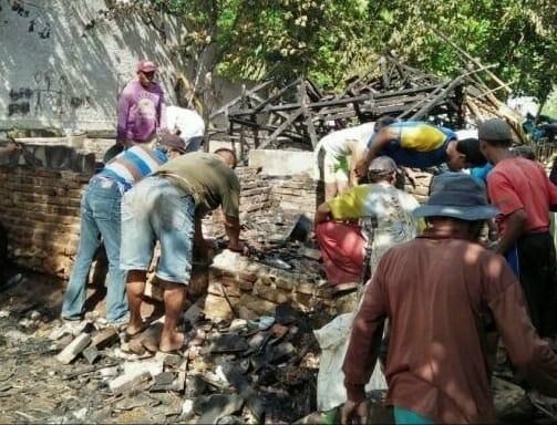 Dalam Satu Hari, Dua Rumah Hangus Terbakar di Kabupaten Lebak