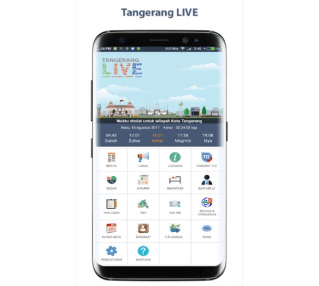 Ayo! Manfaatkan Aplikasi Tangerang LIVE