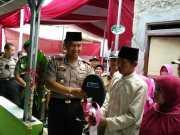 Kapolres Metro Tangerang Kota Resmikan Bedah Rumah Milik Marbot Masjid