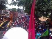 Ribuan Buruh Banten Berteriak Tolak UMK Sesuai PP 78