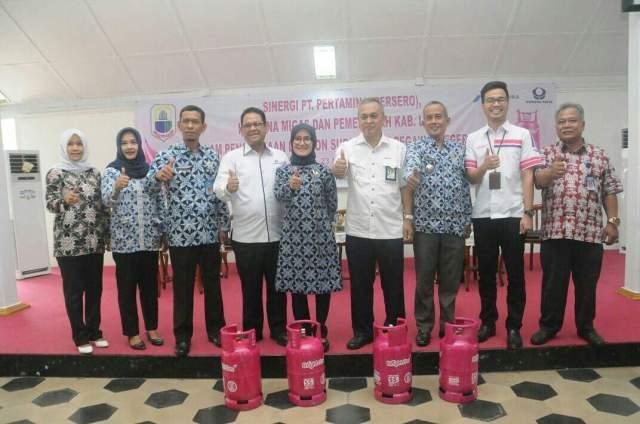 Iti Octavia Jayabaya Ajak PNS Lebak Gunakan LPG Nonsubsidi