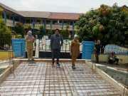 Atas Usulan Warga dan Dukungan Anggota DPRD, Kini Depan SDN Jurumudi Baru Dibangun Jembatan Beton